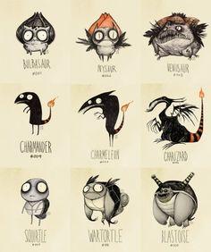 If Tim Burton made pokemon