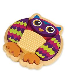 Purple Owl Puzzle