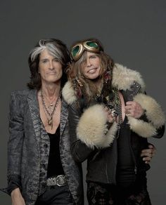 Aerosmith's Steven Tyler & Joe Perry