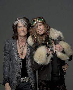 Aerosmith's Steven Tyler & Joe Perry