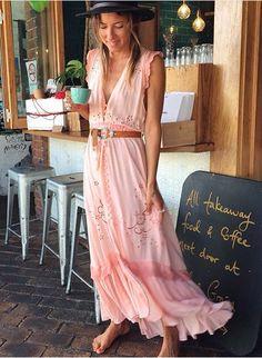 Spell Byron bay hippie vintage dress