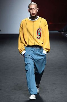Nice Men's Summer Style Male Fashion Trends: Youser Spring-Summer 2017 - Seoul Fashion Week... Check more at http://24myshop.tk/my-desires/mens-summer-style-male-fashion-trends-youser-spring-summer-2017-seoul-fashion-week-4/