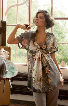 Туника: Burda Мода для полных 2/ 2014/ 424 / Burdastyle
