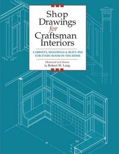 """""""Featuring detailed working shop drawings, this book guides carpenters and woodworkers who wish to repair or replace original Craftsman or Craftsman-style designs in homes, cottages, or bungalows. Structural and interior details are tailored to modern ..."""
