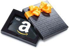 $150 Amazon Gift Card Giveaway!