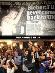 Justin Bieber will never come back!