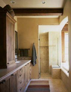 Spanish revival kitchen kitchen pinterest spanish for Santa fe style bathroom ideas