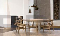 Wishbone chair, design by Hans J. Wegner, Carl Hansen en Son