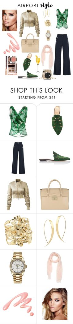 """High class"" by alejandra-zeledon ❤ liked on Polyvore featuring Dolce&Gabbana, Charlotte Olympia, Chloé, Furla, Aurélie Bidermann, Lana, Rolex, Chantecaille and Charlotte Tilbury"