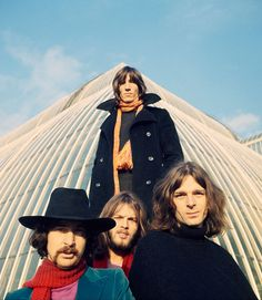 Pink Floyd, 1969. Photo by Storm Thorgerson