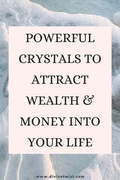Give yourself a boost of prosperity with crystals that attract money like a magnet. Crystals For Wealth, Masculine Energy, Lucky Stone, Attract Money, Financial Success, Health Advice, Attraction, Life