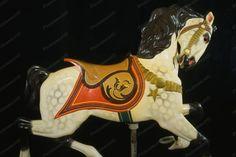 Glen Echo Dentzel Carousel Horse 28 1920s 4x6 Reprint Of Old Photo