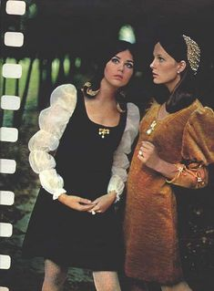 ) Model Colleen Corby in Seventeen magazine 60s And 70s Fashion, 70s Inspired Fashion, Retro Fashion, Vintage Fashion, Fashion Fashion, Seventies Fashion, Hippie Fashion, 00s Mode, Colleen Corby