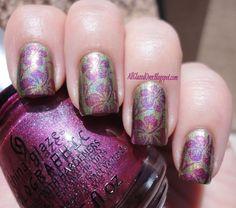 Holo Hibiscus Nail polish! :)