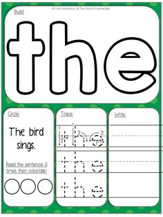 I share with you a fun freebie today! The full Sight Word Pack can be found HERE. My students love these mats! They are simple and work and…
