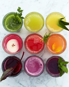 ETC INSPIRATION BLOG 30 DAYS OF JUICING GUIDE VIA WILLIAMS SONOMA CLEAN EATING HEALTHY RECIPES Strawberry Pineapple Mint Juice Apple Beet Carrot Juice Beet Celeriac Carrot Juice Refreshing Fennel Pear Juice Green Lemonade Juice photo ETCINSPIRATIONBLOG30DAYSOFJUICINGVIAWILLIAMSSONOMA.jpg