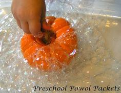 Bubble Science With Pumpkins!!