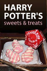 muggle recipes for everything from Honeydukes Chocolate Frogs to Nosebleed Nougat!
