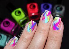 Neon Abstract Negati