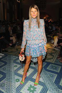 Missoni - Front Row - Milan Menswear Fashion Week Menswear Spring/Summer 2015