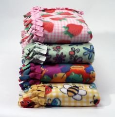 Calling all Teens who want to make a difference! Every year, the library hosts a program where we make fleece tie blankets for donation to The University of Michigan Hospital's Cancer Center. This is a great way to give back to the community and earn some community service hours in the process!
