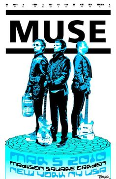 This is my rendition of a poster for Muse concert in The times, dates, and places are real. The artwork is mine. Printed on premium glossy photo paper for deep blacks and vivid colors. 11 X Tour Posters, Band Posters, Music Posters, Wall Art Prints, Poster Prints, Canvas Prints, Punk Poster, Vivid Colors