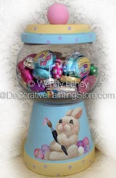 Busy Bunny Gumball ePacket - Wendy Fahey - PDF DOWNLOAD