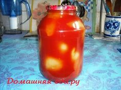 Перец для фарширования в томатной заливке