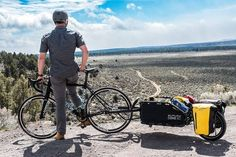 The Coho XC single wheel cargo trailer brings durability and thoughtful design to gear-hauling for bike camping, touring and singletrack riding. Cargo Trailers, Op Logo, Tarpaulin, Cycling Gear, Touring, Make It Simple, Gears, Bicycle, King