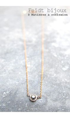 Feidt Paris Birds Lucky Charm Necklace in 9K Gold MxcUSDw