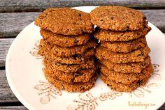 Post image for Recipe: Grain Free Oatmeal Raisin Cookies