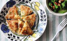 ジャガイモとチーズのご飯ガレット