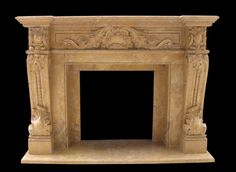 Verona Marble Fireplace http://www.artisankraftfireplaces.com/cast-stone-fireplaces/cast-stone-fireplace-mantels.html