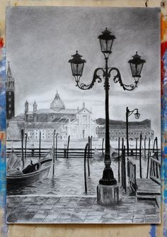 by @janegera_art https://flic.kr/p/GfaAFL | venice_graphic_pencil