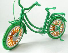 Miniature Wire Tricycle DollhouseTricycle Simple Desk