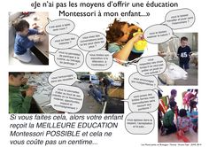 You think you can't afford a Montessori school ? french inside by Lesmontipetits en Bretagne
