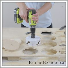 Four-in-a-Row Game by Build Basic – Step 3 - All About Garden Diy Yard Games, Diy Games, Backyard Games, Backyard Projects, Outdoor Games, Plywood Projects, Wooden Projects, Cornhole Designs, Tile Crafts