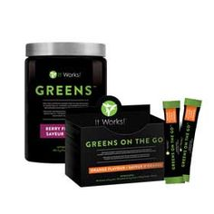 GREENS! OMG. Get in on my distributor discount. www.amandacollison.myitworks.com Have You Tried That Crazy Wrap Thing? | It Works