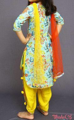 Fashion Shoes For Toddlers Girl Patiala Suit Designs, Kurti Designs Party Wear, Pakistani Kids Dresses, Indian Designer Suits, Designer Wear, Kids Salwar Kameez, Kids Blouse Designs, Tandoori Masala, Kids Dress Patterns