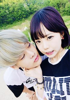 """❥Ulzzang couple - """"You really remember this young child .. They were so close. It was cute."""""""