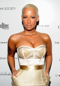 Amber Rose is so pretty