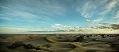 Dunes of Maspalomas during #ipadmini event. Shot with EXF2 panorama mode. Edited in Lightroom.