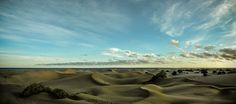 Dunes of Maspalomas during #ipadmini event. Shot with EXF2 panorama mode. Edited in Lightroom.