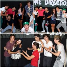 They do NOT take normal pictures with fans!