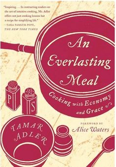 An Everlasting Meal by Tamar Adler...based on How to Cook a Wolf.  I am in the process of reading it. While I find myself annoyed when MF is too closely mimicked ( yet her writing style lends itself to mimicry as it is soothing on the nerves) when Tamar writes as Tamar she can knock 'em dead.