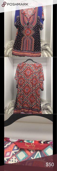 Beautiful Dress Tiger lily tunic dress, beautiful multi colors. Brand new! Tigerlily Dresses