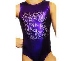 Gymnastics Leotards Girls Mystique FLOOR GYMNASTICS LEOTARD by AERO Leotards    Matching hair scrunchie included.    This design is a holographic
