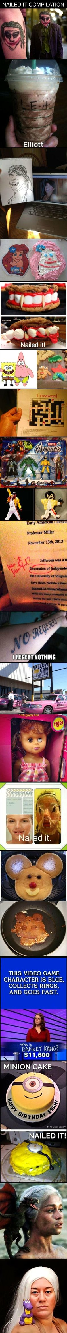 Nailed It Compilation  - http://funny-pictures-blog.com/2014/01/30/funny-pics-nailed-it-compilation-meme/