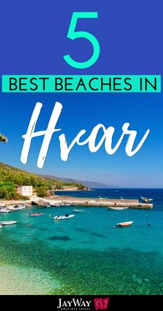 This week our Best Beaches in Croatia series takes us to Hvar, Europe's sunniest island! Hvar's best beaches aren't actually on Hvar itself but instead Restaurant On The Beach, Hvar Island, Croatia Travel, Beach Tops, Summer Travel, Beach Travel, Island Life, Beautiful Beaches, Where To Go