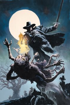 Awesome pic of Solomon Kane.